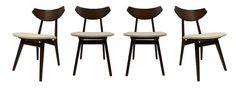Side chairs by Louis Van Teeffelen. $2000