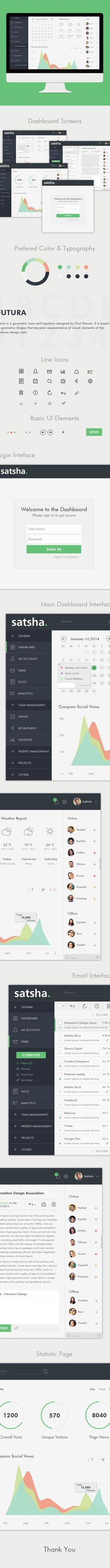 Business Admin,Web Application by Sathish G, via Behance