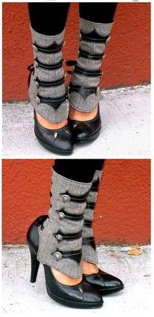 Super Cute Steampunk Boot Covers