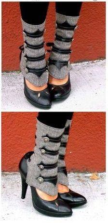 Super Cute Steampunk Boot Covers