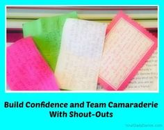A great way to build team spirit and camaraderie with shout-outs. Taking the time to write encouraging words goes a long way in team building. Teach Dance, Learn To Dance, Cheer Coaches, Cheer Mom, Team Bonding Activities, Everybody Dance Now, Dance Crafts, Dance Stretches, Team Motivation