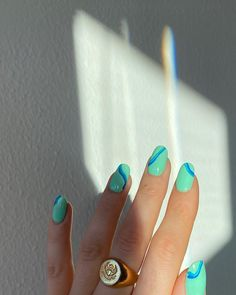 Instagram post by Cecilie Maria Kjærgaard • Jan 22, 2020 at 5:06pm UTC Nail Design Stiletto, Nail Design Glitter, Nail Jewelry, Formal Nails, Funky Nails, Fire Nails, Minimalist Nails, Best Acrylic Nails, Dream Nails