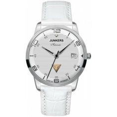 f30d5ec170be Reloj Junkers 6365-5 Automático Swarovski Corrugated blanco Lady «  Relojesactuales