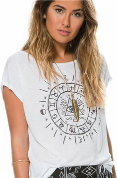 BILLABONG LUCKY DAZE DOLMAN TEE