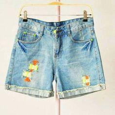 Shopo.in : Buy Denim Shorts online at best price in Kolkata, India