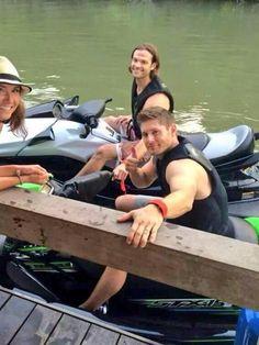 Danneel, Jensen and Jared