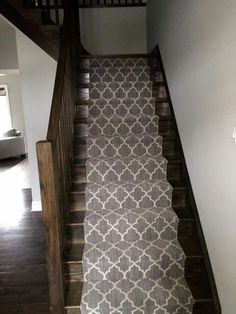 Taza carpet from Tuftex Carpets of California on this staircase.