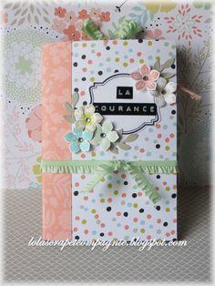 Lolascrap et compagnie: Mini-album La Courance aux couleurs de Sale-A-Bration