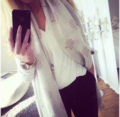 Mulberry scarf