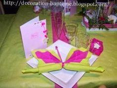 idee deco table de decoration bapteme fille • Hellocoton.fr