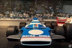 #Matra #MS120 #F1 exposée à la #Cité de l'#Automobile, Collection #Schlumpf, de #Mulhouse. Article original : http://newsdanciennes.com/2015/07/16/on-a-teste-pour-vous-la-collection-schlumpf/ #Cars #Museum #Voiture #Ancienne #Classic