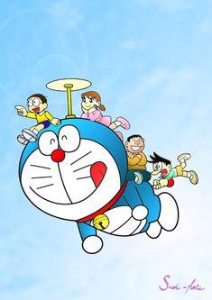 Doraemon by sushi-holic on DeviantArt Doremon Cartoon, Cartoon Drawings, Couple Cartoon, Doraemon Wallpapers, Cute Cartoon Wallpapers, Cute Characters, Cartoon Characters, Japanese Characters, Japanese Festival
