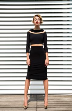 Every woman must have a little black dress. Buy it in Sdress online shop. Ava dress style is elegant and chic; it is made of the machine washable fabric
