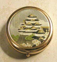Vintage Japanese Pill Box