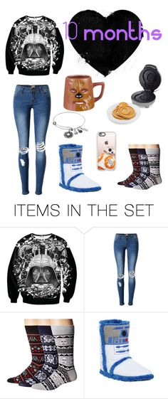 """10 month anniversary 😘 read description!"" by jessdodd-1 ❤ liked on Polyvore featuring art"