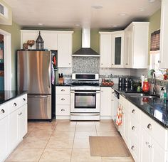 11 Tips for Organizing your Kitchen Cabinets. The how-to on your kitchen cabinet layout.