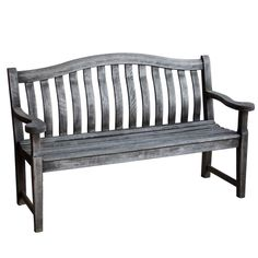 Vintage English Wooden Bench
