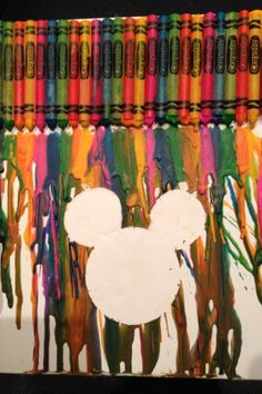 Crayon Art: Disney