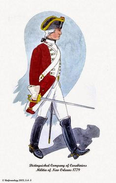Distinguished Company of Carabiners Militia of New Orleans 1779 American Revolutionary War, American Civil War, Civil War Photos, Military Art, World War I, Medieval, Ancient History, 18th Century, New Orleans