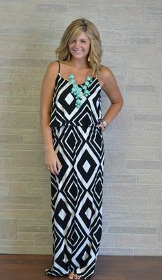 Great maxi for General sessions, but pack a cardigan or wrap. The hotel gets chilly. Great teal necklace too!