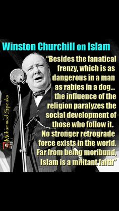 Winston Churchill knew the truth