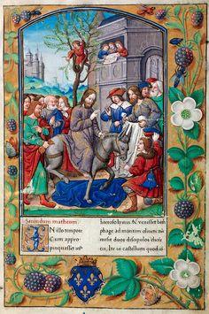 Biblioteca Digital Hispánica - 004-Evangeliario de París para uso de Carlos Duque de Angulema - 1500-1600