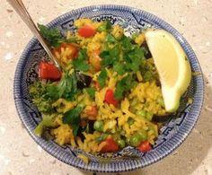 La recette végétarienne de la paëlla de légumes