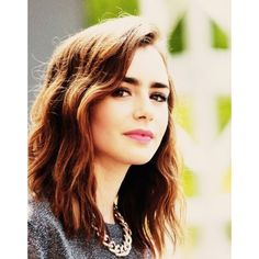 Lily collins We Heart It ❤ liked on Polyvore featuring lily collins, lily, pics and skylar salvatore