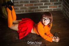 Check out 14 of the hottest Velma Dinkley from Scooby Doo cosplay ideas. 1 Cosplay by Kristen Hughey Use the navigation to continue with the article. 2 Cosplay by Eve Beauregard Use the navigation to Comic Con Cosplay, Amazing Cosplay, Best Cosplay, Shaggy And Velma, Sexy Velma, Daphne And Velma, Velma Dinkley, Supergirl, Trending Memes