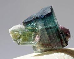 mineralists:  Beautiful gemmy Tourmaline Specimen