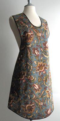 Katherine Simple Apron - BellaPamella - Retro, Vintage, Old-Fashioned, Classic & Bib Aprons for Adults & Kids