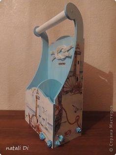 Морская коробочка для бутылок фото 3