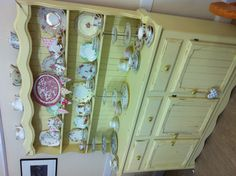 Re painted and re furnished old Welsh dresser