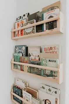 Boys Bedroom Storage, Nursery Storage, Kids Bedroom, Nursery Book Shelves, Kids Rooms, Wall Storage, Baby Bookshelf, Book Shelf Kids Room, Kids Bedroom Ideas
