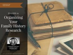 Welcome to Episode 01 of the Genealogy Girl Talks Podcast! On this episode I want to talk about setting goals for the new year and org...
