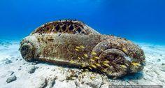 En el mar Caribe mexicano se encuentra desde 2009 una de las mayores atracciones submarinas del mundo: el Museo Subacuático de Arte y sus 500 esculturas.