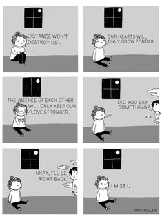 Sometimes, when the days get too gray and gloomy, you need a little pick-me-up before you can carry on, something that would make you smile. Artist Valerie Minelli and her comic series about life aim to do just that. Your Smile, Make You Smile, Couples Comics, Be Right Back, I Miss U, My Guy, My Boyfriend, First Love, Relationship