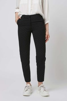PETITE Pinspot Cigarette Trousers More