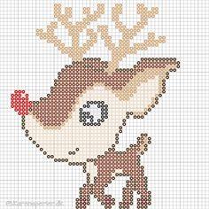 - Perleinspiration til børn og voksne Hama Beads Christmas, Christmas Cross, Hama Beads Patterns, Beading Patterns, Fuse Beads, Perler Beads, Cross Stitch Charts, Cross Stitch Patterns, Christmas Knitting