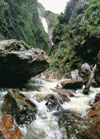 Salto de Isnos al sur del departamento del Huila.