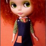 Puchi Collective ... Blythe doll sewing patterns