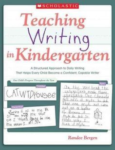 This smart, simple approach ensures that kindergarteners write at or above a first-grade level by the end of the year. Master teacher Randee Bergen shares her yearlong plan for daily writing, providin