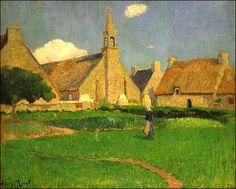 """""""La Chapelle du Pouldu"""", by Paul Gauguin"""