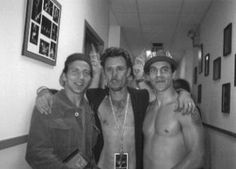 Eddie and Anthony Kiedis
