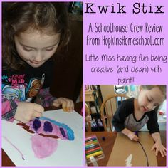 Kwik Stix Paint Sticks ~ A Schoolhouse Crew Review