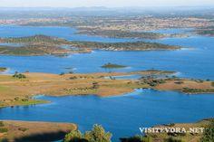Visitar a Barragem de Alqueva, um ícone do Alentejo, Portugal.