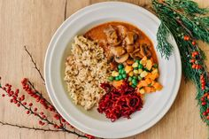 šampiňóny v stroganov Tempeh, Tofu, Hummus, Stuffed Mushrooms, Vegetarian, Vegan, Cooking, Ethnic Recipes, Diet