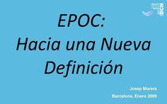 EPOC, hacia una nueva definición. Año 2009, Dr. Morera (Barcelona)