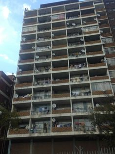 Flats in Hillbrow