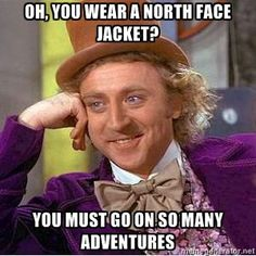 So many adventures have started in a Northface jacket and Ugg boots.